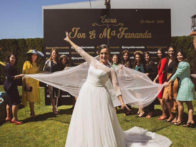 La boda de Jon y María Fernanda en Villafranca De Los Barros, Badajoz 62