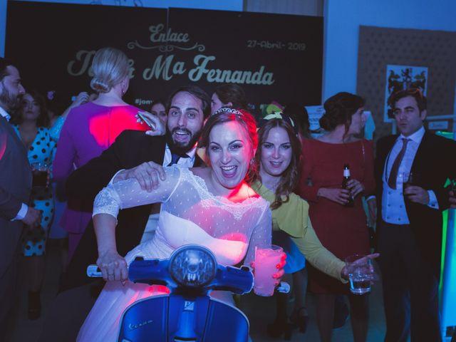 La boda de Jon y María Fernanda en Villafranca De Los Barros, Badajoz 79