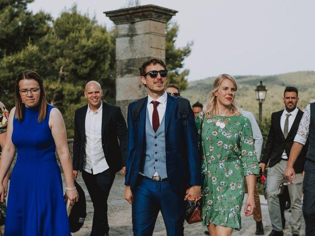La boda de David y Daiva en Sant Marti De Tous, Barcelona 41