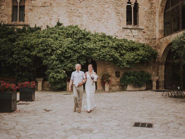 La boda de David y Daiva en Sant Marti De Tous, Barcelona 45