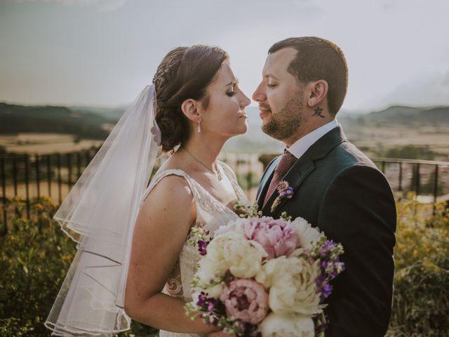 La boda de David y Daiva en Sant Marti De Tous, Barcelona 62