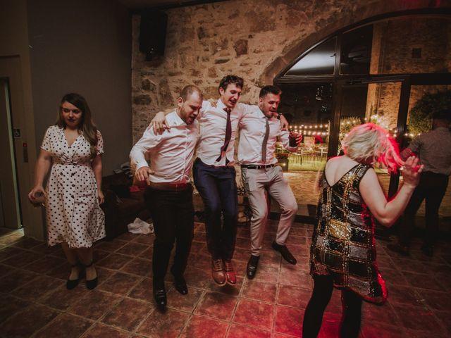 La boda de David y Daiva en Sant Marti De Tous, Barcelona 115