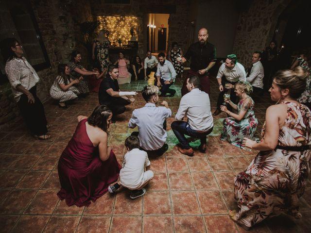 La boda de David y Daiva en Sant Marti De Tous, Barcelona 117