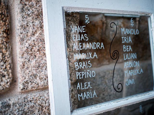 La boda de Fran y Luisa en Louro, A Coruña 40