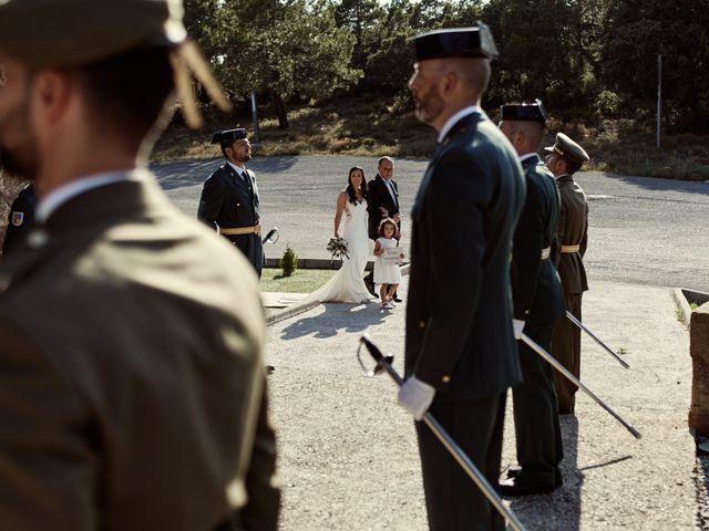 La boda de David y Alba en Mora De Rubielos, Teruel 35