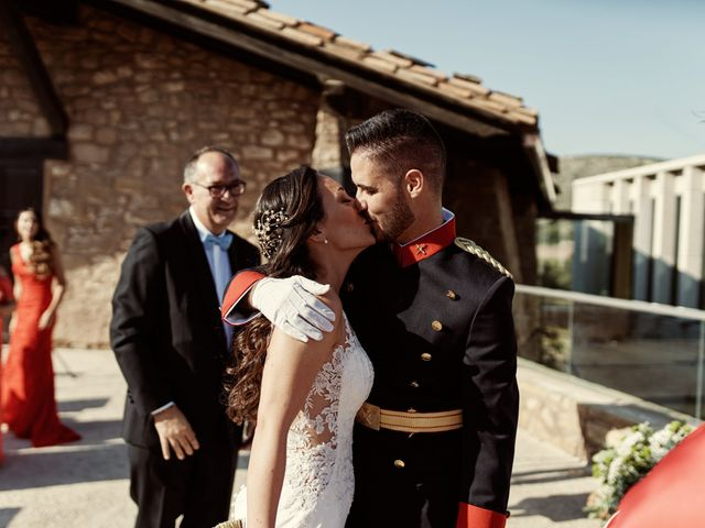 La boda de David y Alba en Mora De Rubielos, Teruel 40