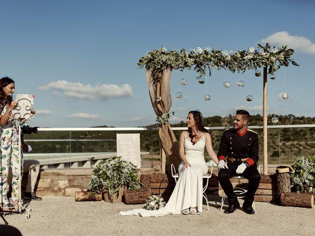 La boda de David y Alba en Mora De Rubielos, Teruel 42