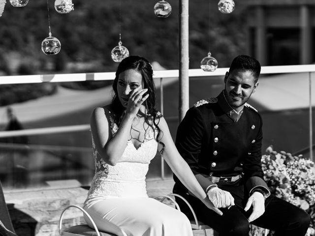 La boda de David y Alba en Mora De Rubielos, Teruel 44