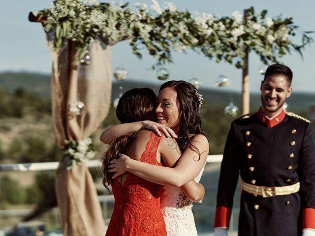 La boda de David y Alba en Mora De Rubielos, Teruel 48