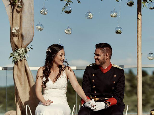 La boda de David y Alba en Mora De Rubielos, Teruel 54