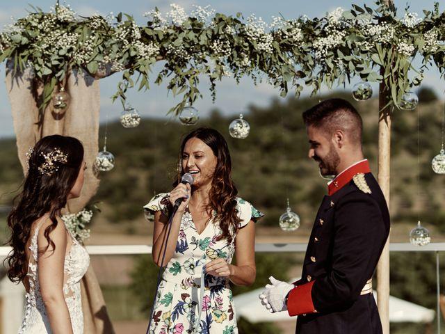 La boda de David y Alba en Mora De Rubielos, Teruel 56