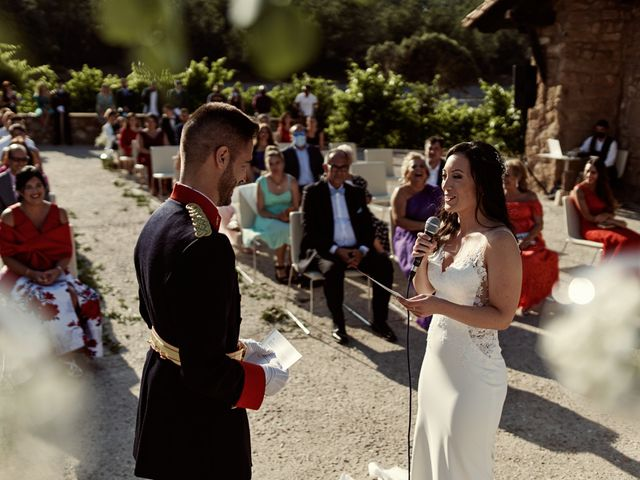 La boda de David y Alba en Mora De Rubielos, Teruel 61