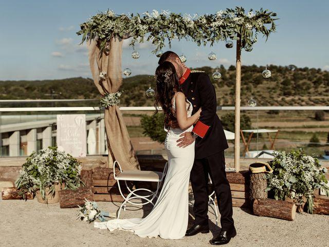 La boda de David y Alba en Mora De Rubielos, Teruel 67