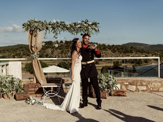 La boda de David y Alba en Mora De Rubielos, Teruel 68