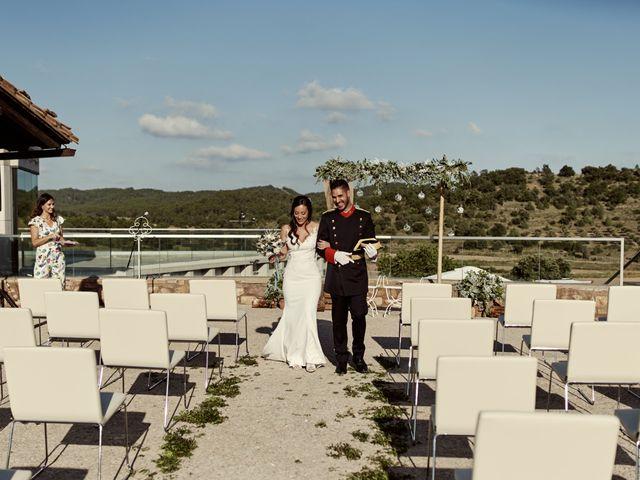 La boda de David y Alba en Mora De Rubielos, Teruel 69