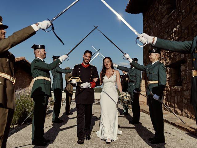 La boda de David y Alba en Mora De Rubielos, Teruel 71