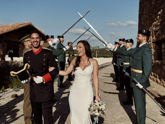 La boda de David y Alba en Mora De Rubielos, Teruel 72