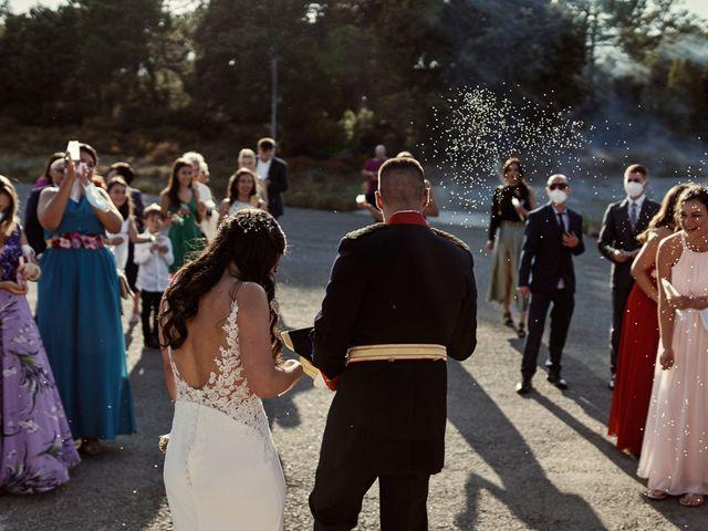 La boda de David y Alba en Mora De Rubielos, Teruel 73