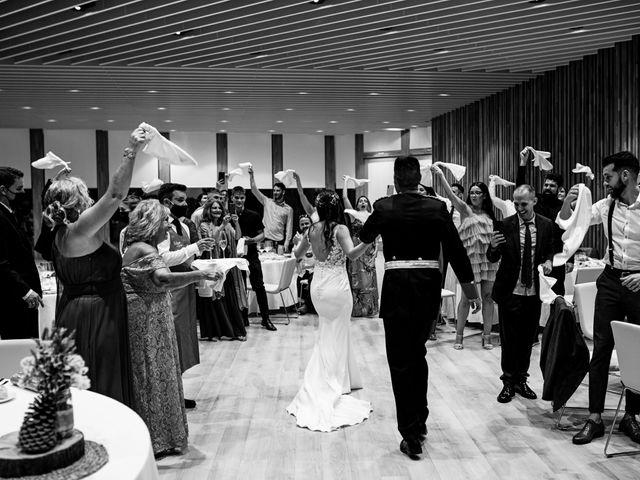 La boda de David y Alba en Mora De Rubielos, Teruel 82