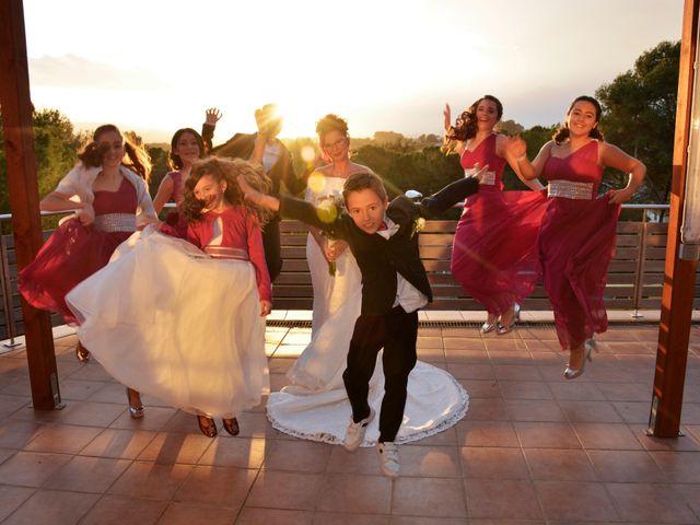 La boda de Miguel y Mar en Sant Cugat Del Valles, Barcelona 11