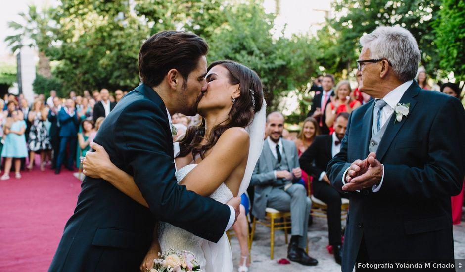 La boda de Diego y Cristina en Granada, Granada