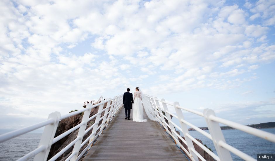 La boda de Javier y Paula en Avilés, Asturias