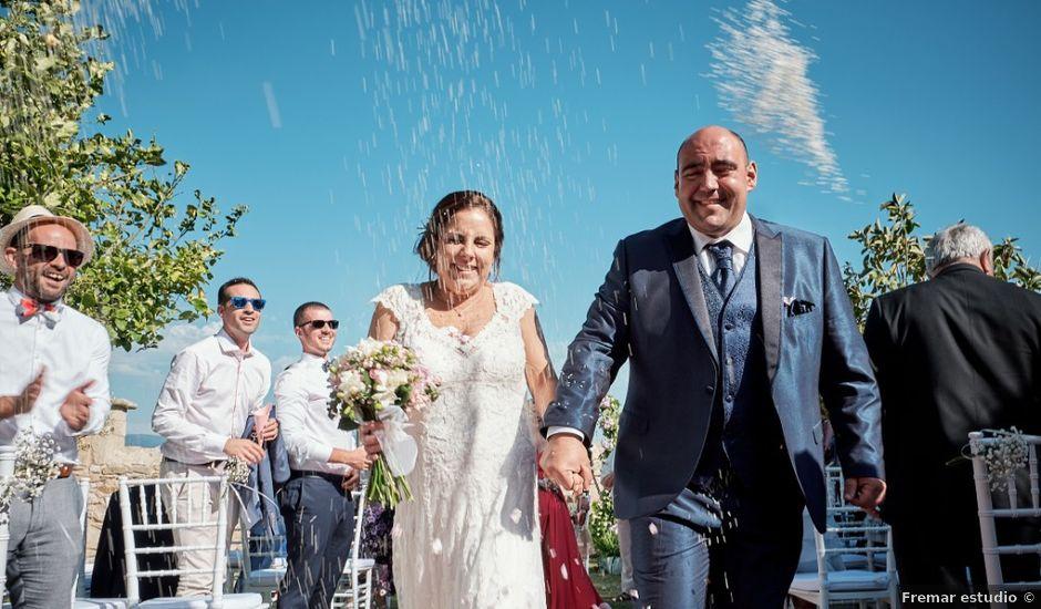 La boda de Fran y Luisa en Louro, A Coruña