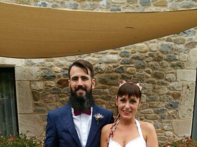 La boda de Ibon y Sandra en Girona, Girona 1