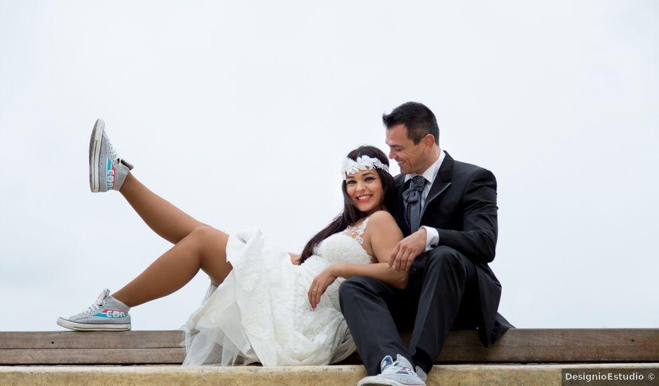 La boda de Javier y Chari en Alacant/alicante, Alicante
