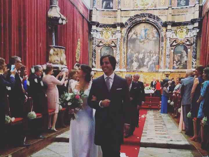 La boda de Ignacio y Cynthia