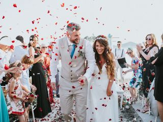 La boda de Alejandra Hernández  y Fearghal Mckiernan