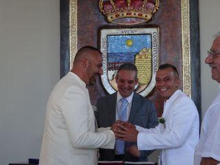 La boda de Joaquin y Alexander