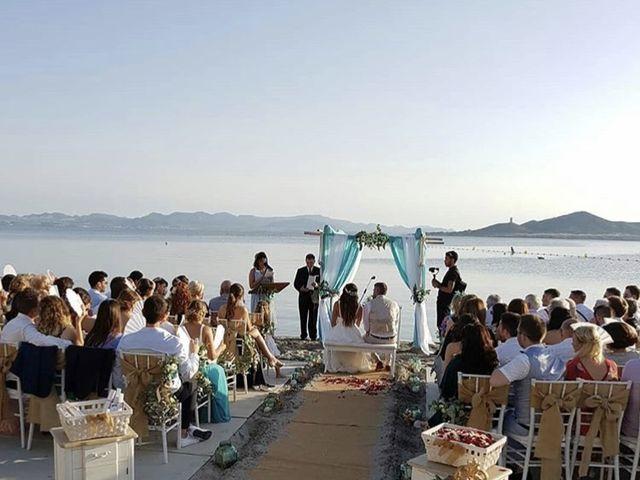 La boda de Fearghal Mckiernan y Alejandra Hernández  en La Manga Del Mar Menor, Murcia 4