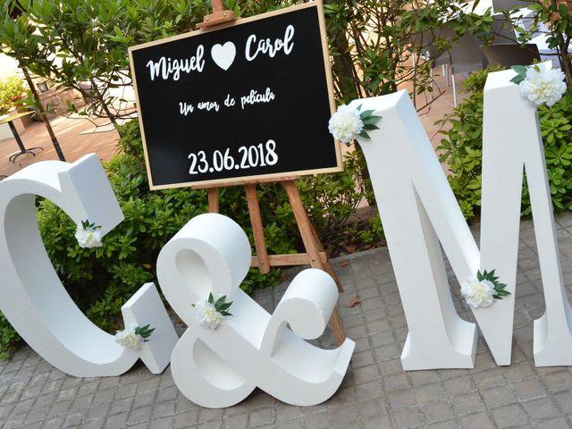 La boda de Miguel y Carol en L' Hospitalet De Llobregat, Barcelona 47