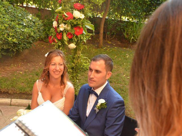 La boda de Miguel y Carol en L' Hospitalet De Llobregat, Barcelona 60