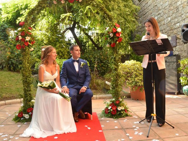La boda de Miguel y Carol en L' Hospitalet De Llobregat, Barcelona 61