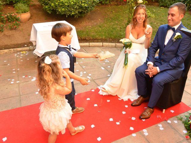La boda de Miguel y Carol en L' Hospitalet De Llobregat, Barcelona 81