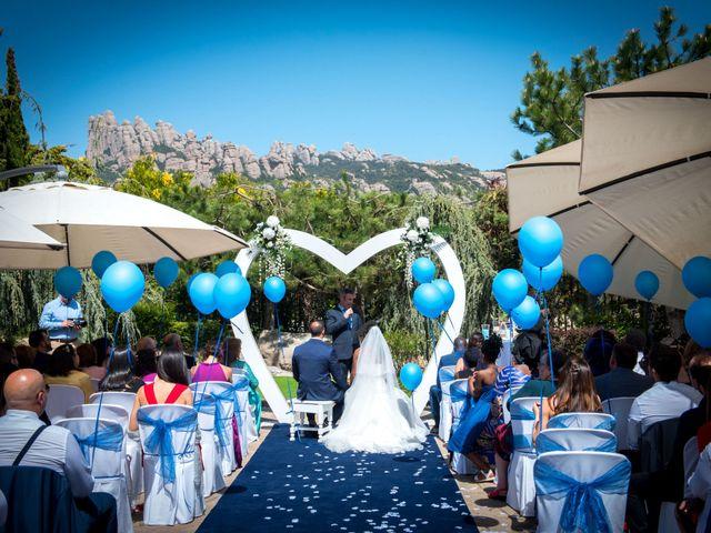 La boda de Daniel y Haja en El Bruc, Barcelona 16