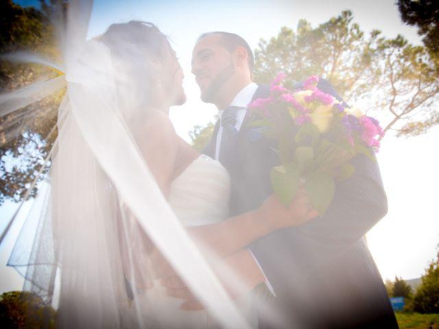 La boda de Daniel y Haja en El Bruc, Barcelona 1