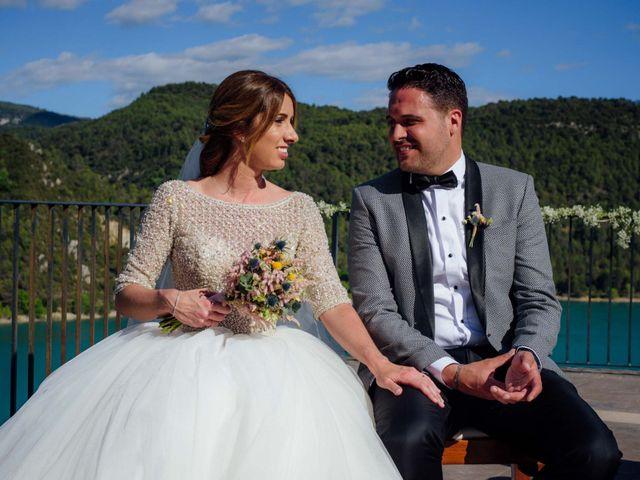La boda de Rubén y María en Ligüerre De Cinca, Huesca 62