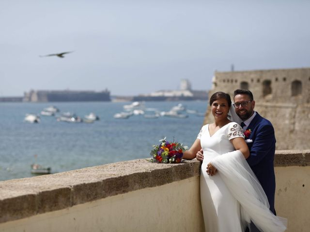 La boda de Moisés y Carolina en Cádiz, Cádiz 4