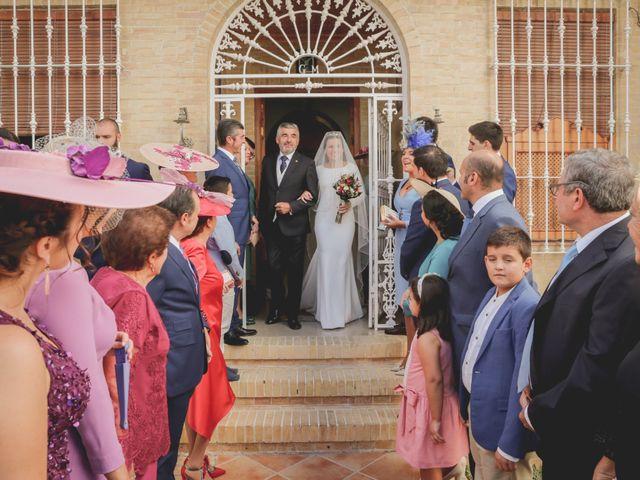 La boda de Jose Antonio y María en Aznalcazar, Sevilla 31