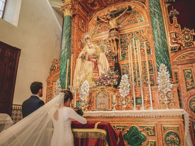 La boda de Jose Antonio y María en Aznalcazar, Sevilla 35