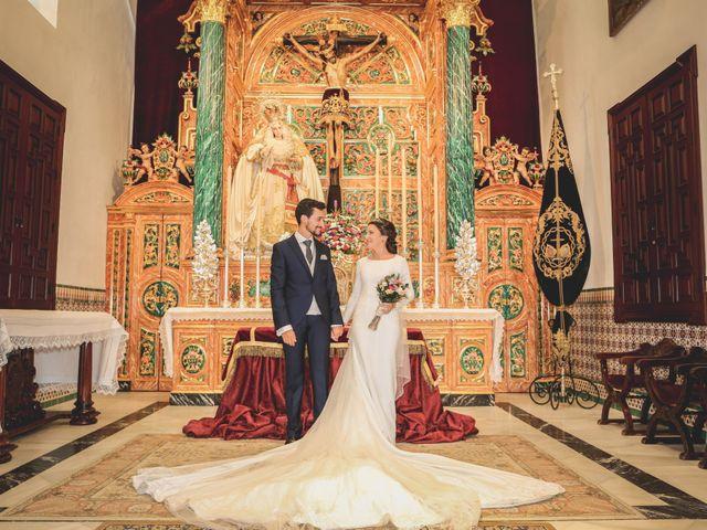 La boda de Jose Antonio y María en Aznalcazar, Sevilla 36