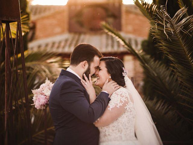 La boda de Rafa y Alba en Almodovar Del Campo, Ciudad Real 54