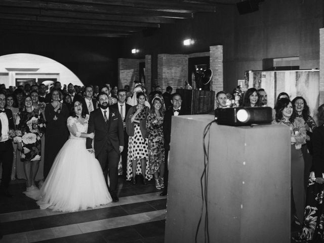 La boda de Rafa y Alba en Almodovar Del Campo, Ciudad Real 85