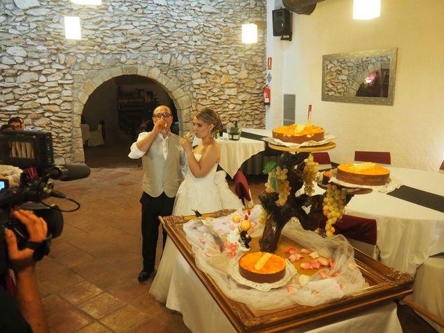 La boda de David  y Veronica en Forallac, Girona 5