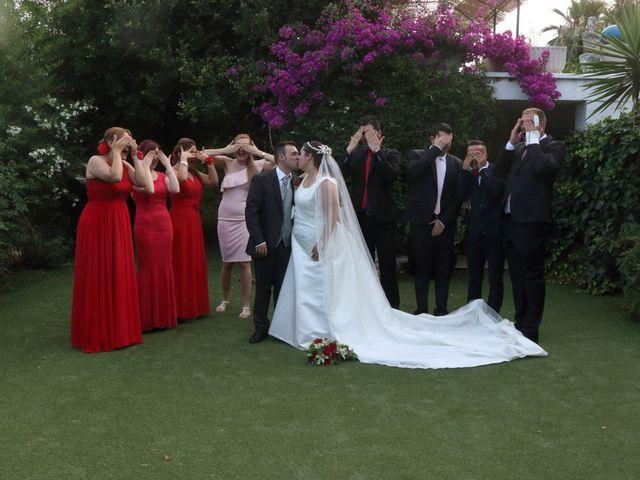 La boda de Javier y Lorena en Vila-real/villarreal, Castellón 67