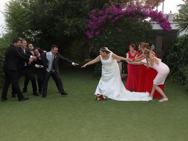 La boda de Javier y Lorena en Vila-real/villarreal, Castellón 68
