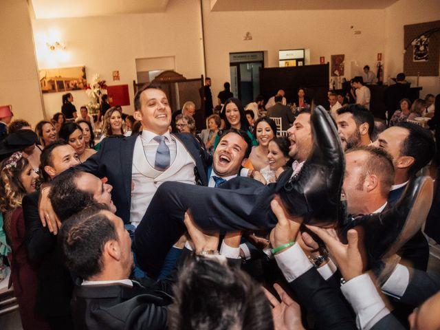 La boda de Juanmi y Eli en Ribera Del Fresno, Badajoz 41